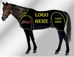 EQUINE CUSTOMISED SUIT BLACK