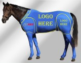 EQUINE CUSTOMISED SUIT BLUE