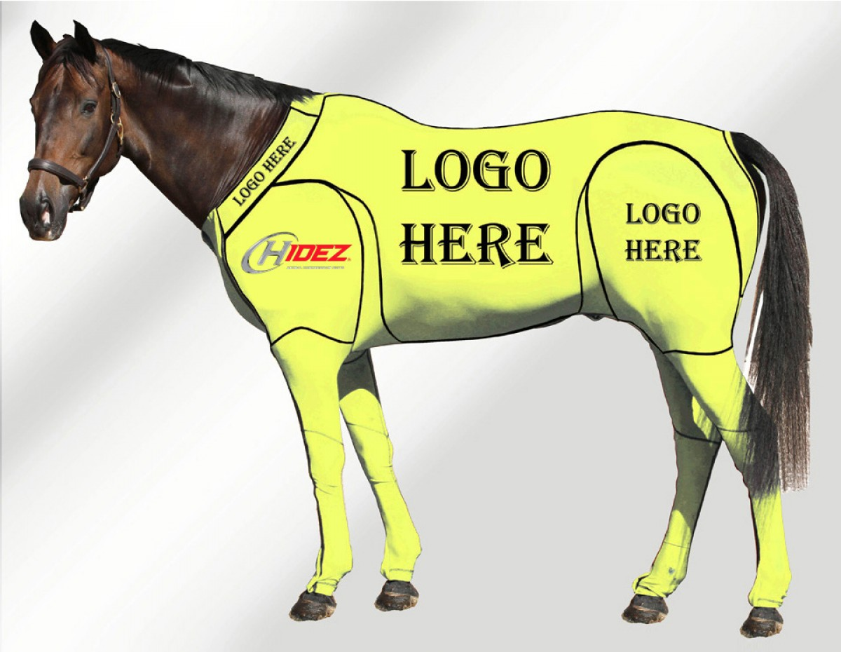 EQUINE CUSTOMISED SUIT FLURO YELLOW