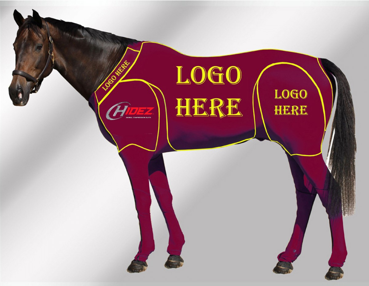 EQUINE CUSTOMISED SUIT MAROON