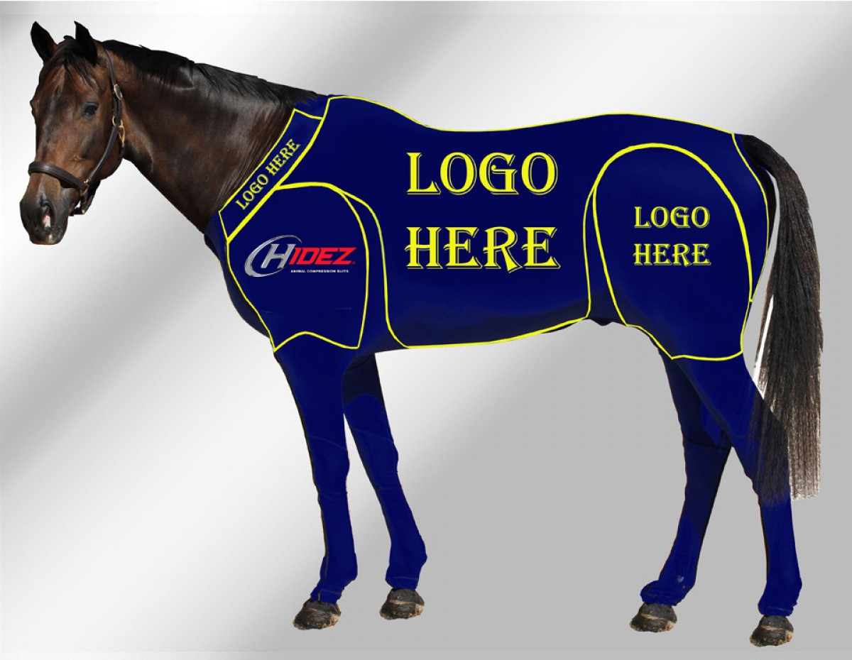 EQUINE CUSTOMISED SUIT NAVY