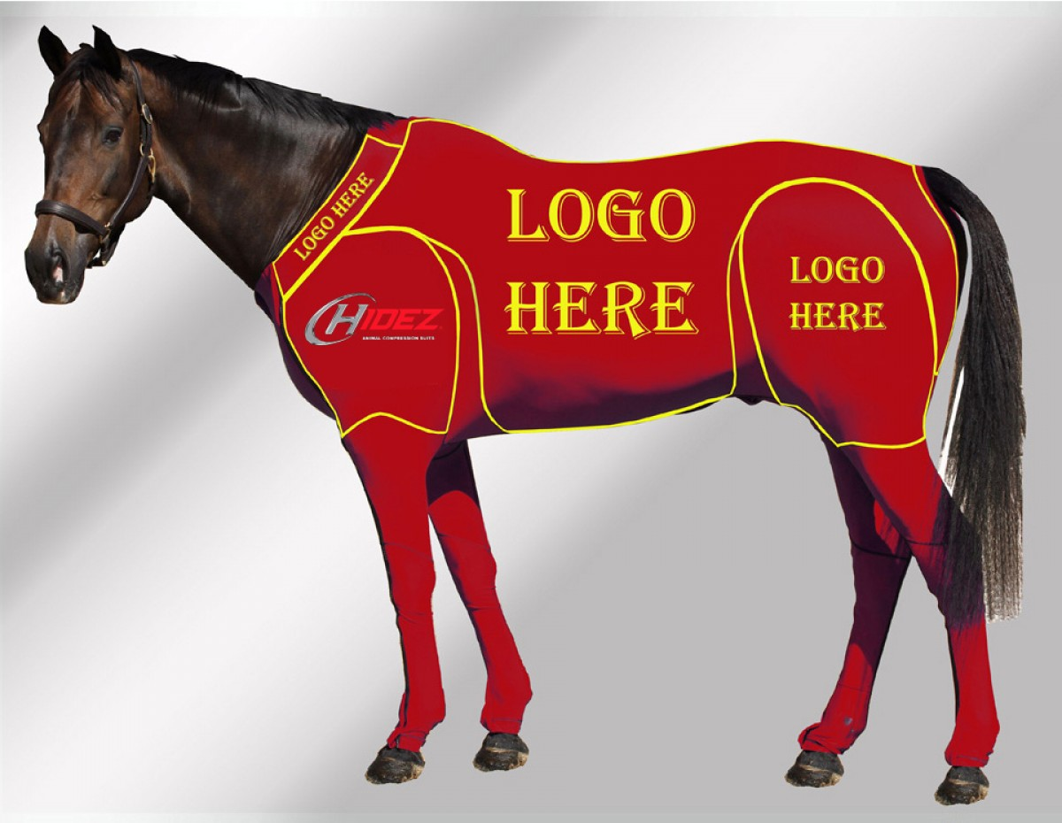 EQUINE CUSTOMISED SUIT RED