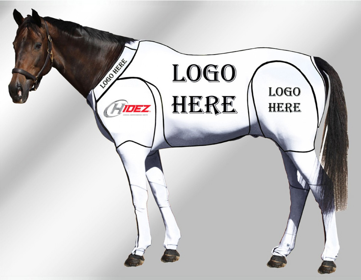 EQUINE CUSTOMISED SUIT WHITE