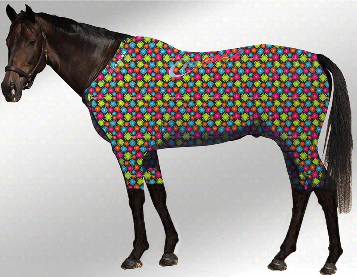 EQUINE ACTIVE  SUIT PRINTED FLORA
