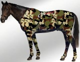 EQUINE SUIT PRINTED CAMO ARMY