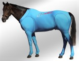 EQUINE SUIT PRINTED TURQUOISE